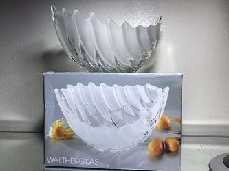Glass Leaf Bowl Thumbnail