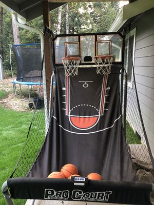 Pro court arcade basketball for Sale in Graham, WA