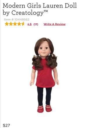 Modern Girls Lauren Doll by Creatology for Sale in Nashville, TN