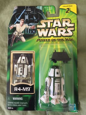 Star Wars Toys POWER OF THE JEDI R4-M9 DROID WITH MOUSE DROID,NEW,2000 for Sale in Phoenix, AZ