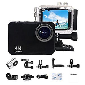"""Action Camera 4K Ultra HD 60 Meters Waterproof Camera 16MP 2.0"""" LCD WiFi Sports Camera Mounting Accessorie for sale  US"""