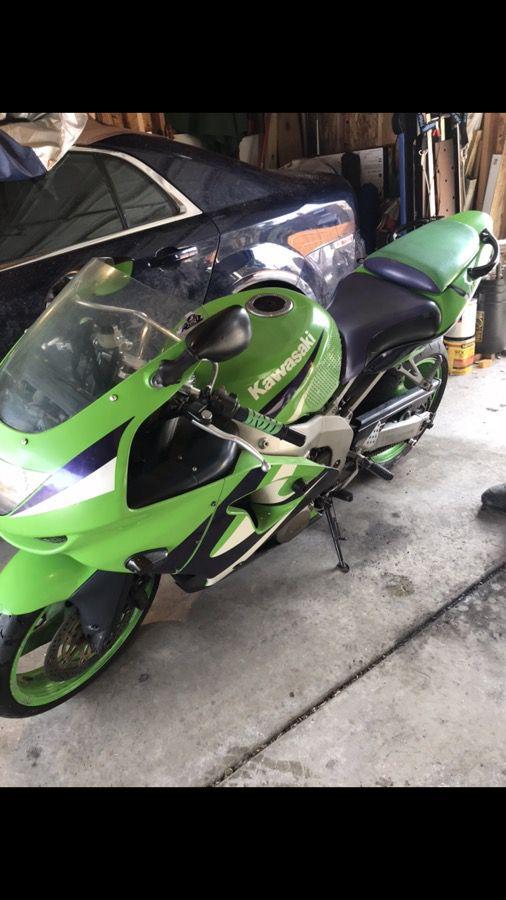 1999 Kawasaki Ninja ZX6R For Sale Or Trade Honda CBR 600