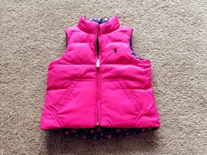 Ralph Lauren limited edition toddler down vest 3t for Sale in Alexandria, VA