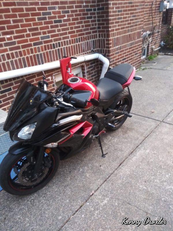 2016 ninja 650r $1500