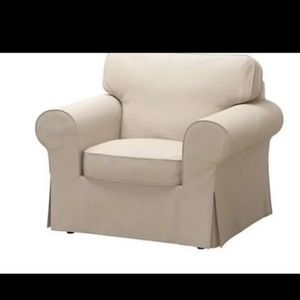 IKEA ektorp armchair slipcover beige *Chair not included for Sale in Hollywood, FL