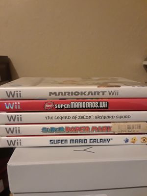 Wii Games for Sale in Tampa, FL