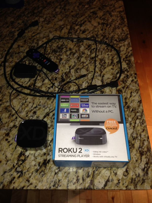 Roku 2 Xd Model3050x Hdmi Cable Remote Power Supply 20 For Sale