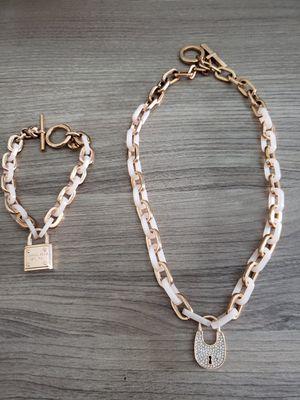 Michael Kors Padlock Chain Set for Sale in Orlando, FL