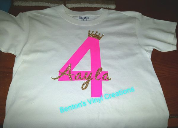 Monogram Birthday Shirts Clothing Shoes In Greenville SC