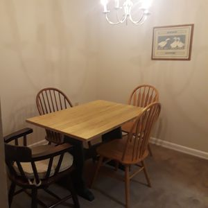 Table and chairs for Sale in Arlington, VA