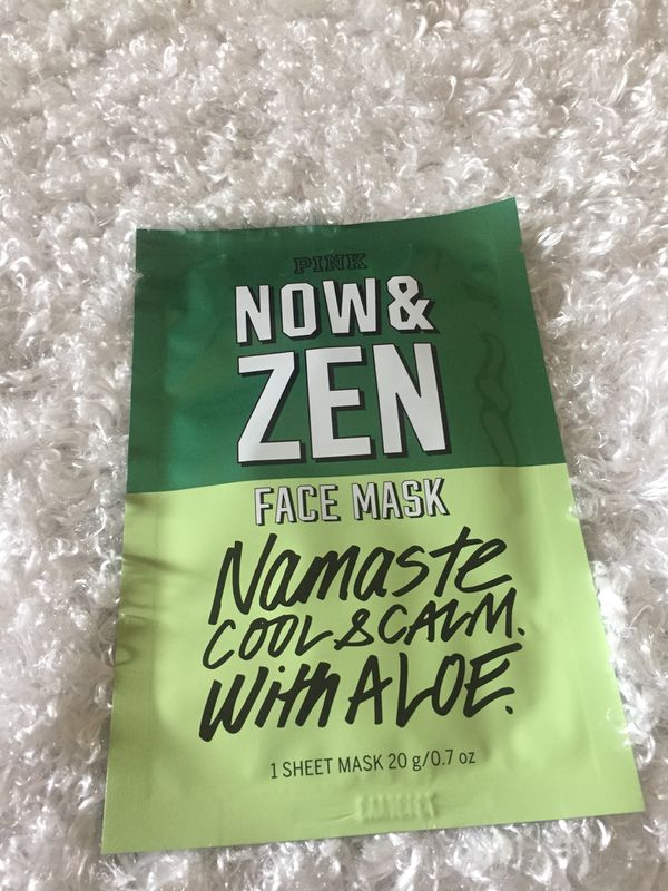 0cd9440d48e36 Now and Zen- Victoria's Secret- Pink- Namaste Cool and Calm with Aloe- Face  Mask for Sale in Grand Rapids, MI - OfferUp