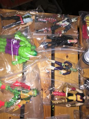 Assortment of action figures and toys terminator fantastic four hulk pigs for Sale in Phoenixville, PA