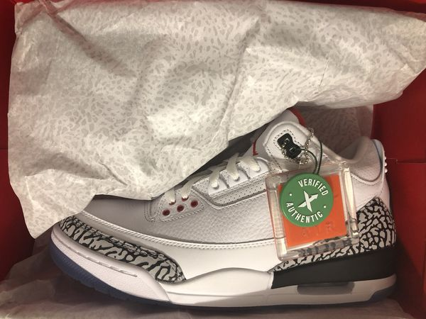 Jordan 3 free throw line size 9.5 stockx authenticated for Sale in ... 38849470ba52