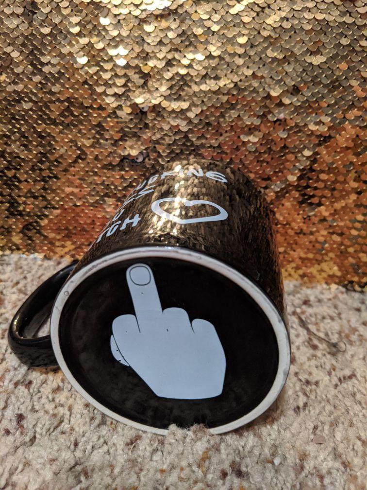 I f*cking miss u b*tch coffee mug
