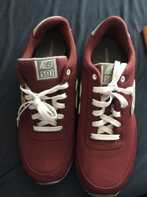 NEW BALANCE 501 BURGUNDY SIZE 11 for Sale in Fontana, CA