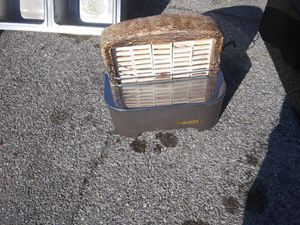 15000 btu gas wall heater. Or space heater antique for Sale in Bethany, OK