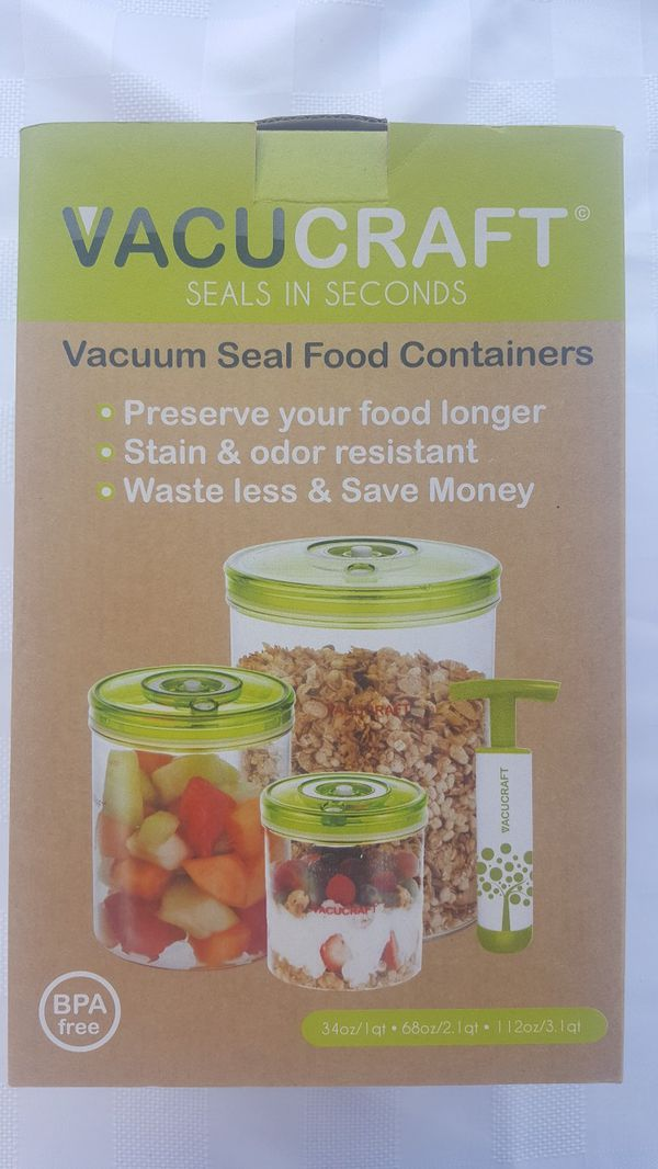 Vacuum Sealed Containers for Sale in Spring Valley, CA - OfferUp