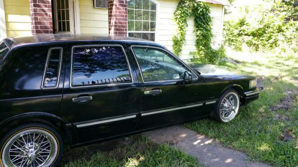 1996 Lincoln Town Car With 17 S Swangas For Sale In Houston Tx