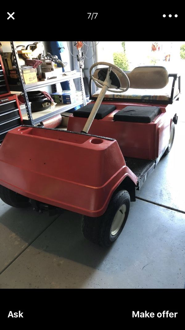 Yamaha G1 Golf Cart Gas Fast For Sale In Menifee Ca Offerup