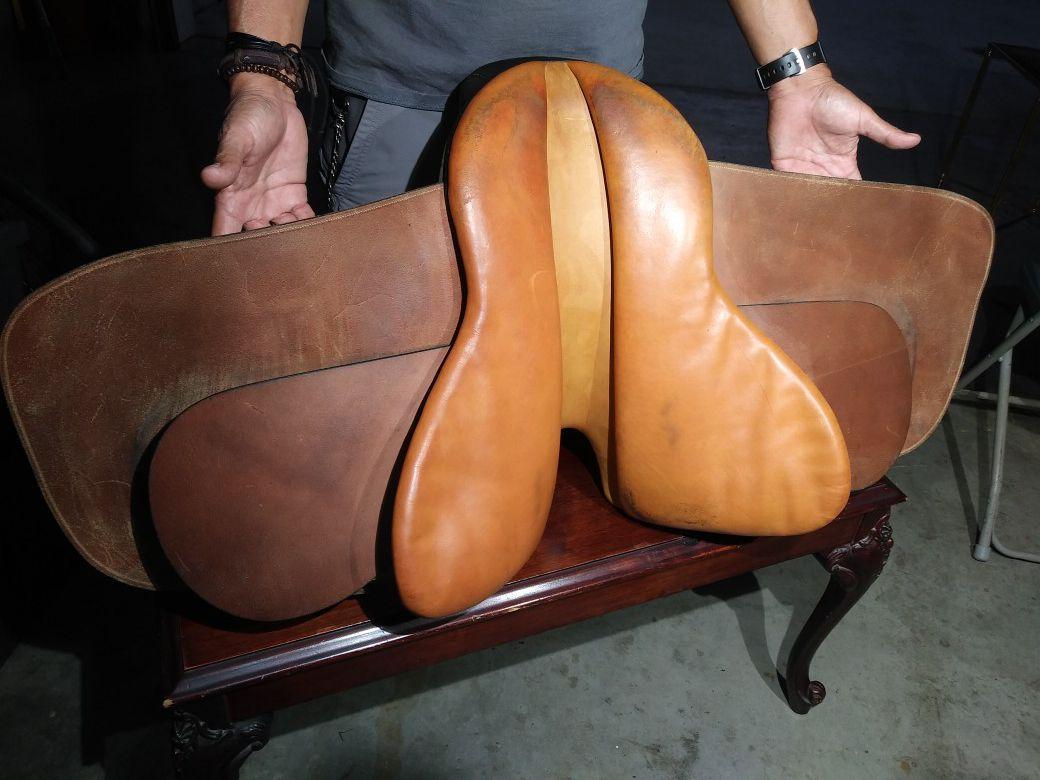 Whitman English saddle