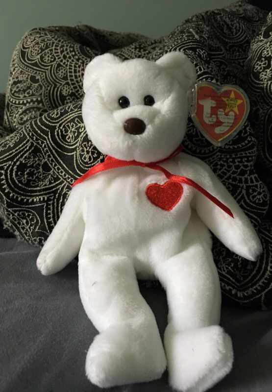 3723df17f49 Beanie baby Valentino with many errors for Sale in Lancaster