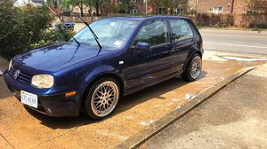 2002 vw gti 2dr hatchback 176xxx miles got new tires rims are pretty good they are miro's for Sale in Arlington, VA