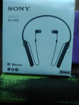 Sony Bluetooth Headset WI-C400 for Sale in Chicago, IL