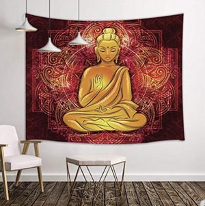 Golden Buddha Mandala Tapestry for Sale in Durham, NC