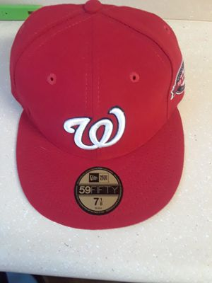 Nationals on-field fitted cap (10 year anniversary) for Sale in District Heights, MD