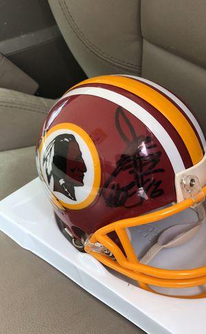 HOF Head Coach Autographed Washington Redskins Mini Helmet for Sale in Fairfax, VA