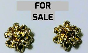 LIMITED EDITION KATE SPADES GOLD NUGGET & DIAMOND EARRINGS for Sale in Orlando, FL