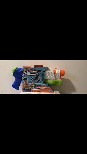 Hasbro Nerf Super Soaker scatter blast water squirt gun for Sale in Germantown, MD
