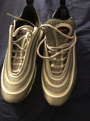 Nike Silver Space Shoes Size 6 And half for Sale in Owings Mills, MD