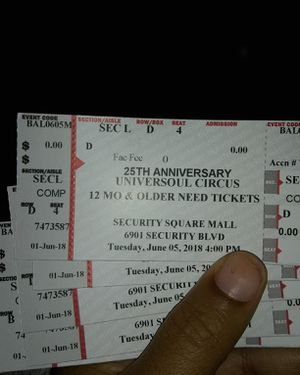 Circus Tickets for Sale in Baltimore, MD