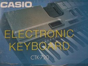 Never used Casio CTK-720 61 key musical keyboard for Sale in Northville, MI