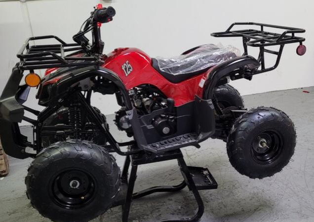Photo 125cc ATV For Kids And Teen