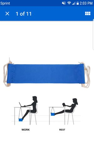 Foot Hammock for office or home Portable for Sale in Diamond Bar, CA