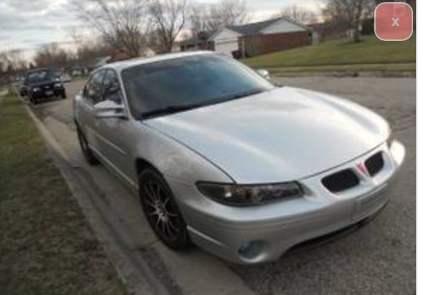 2002 Pontiac Grand Prix Series Ii