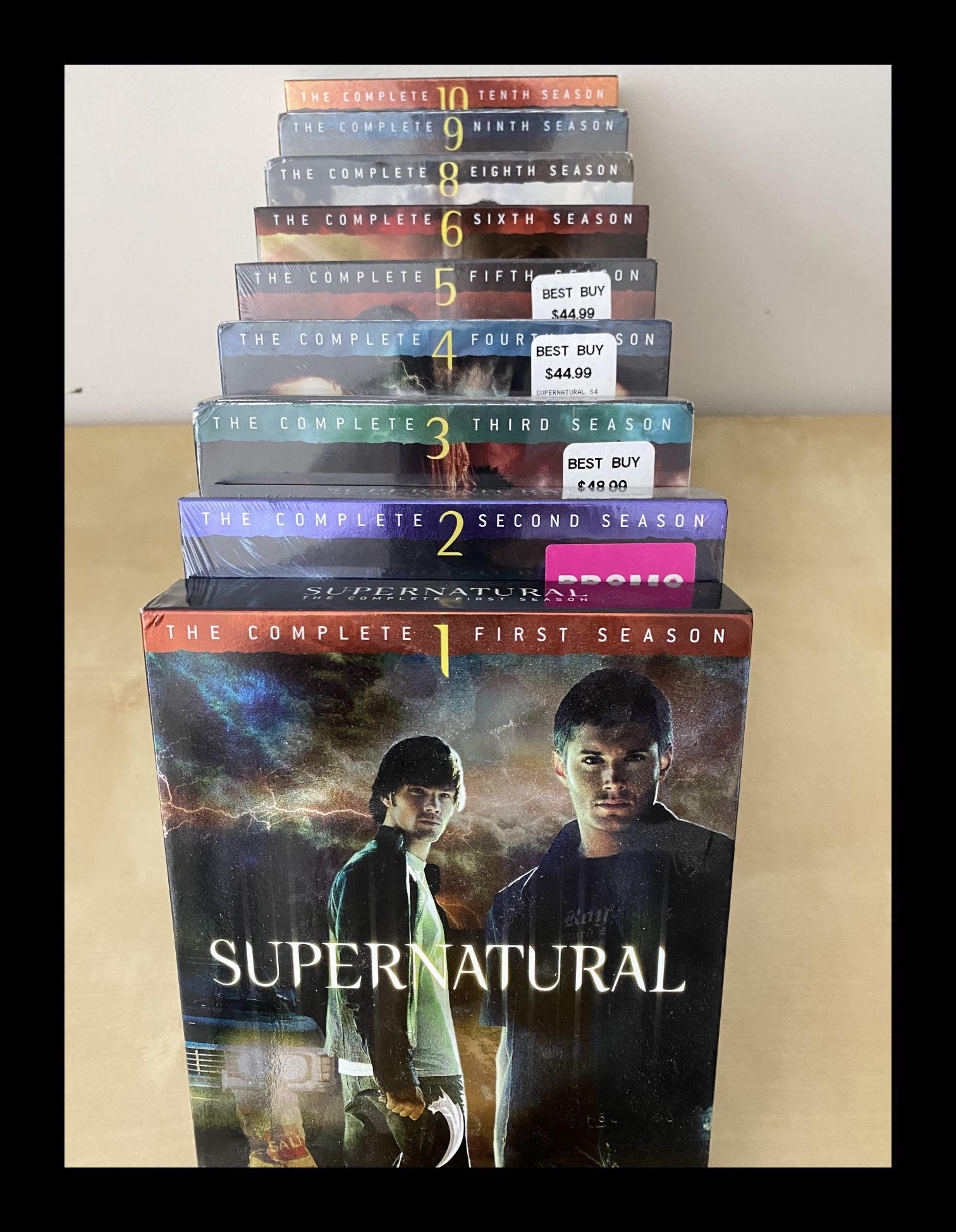 Supernatural DVD Set