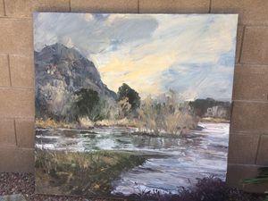"""Santa Cruz"" #1, Original Oil Painting by James P Cook for Sale in Tucson, AZ"