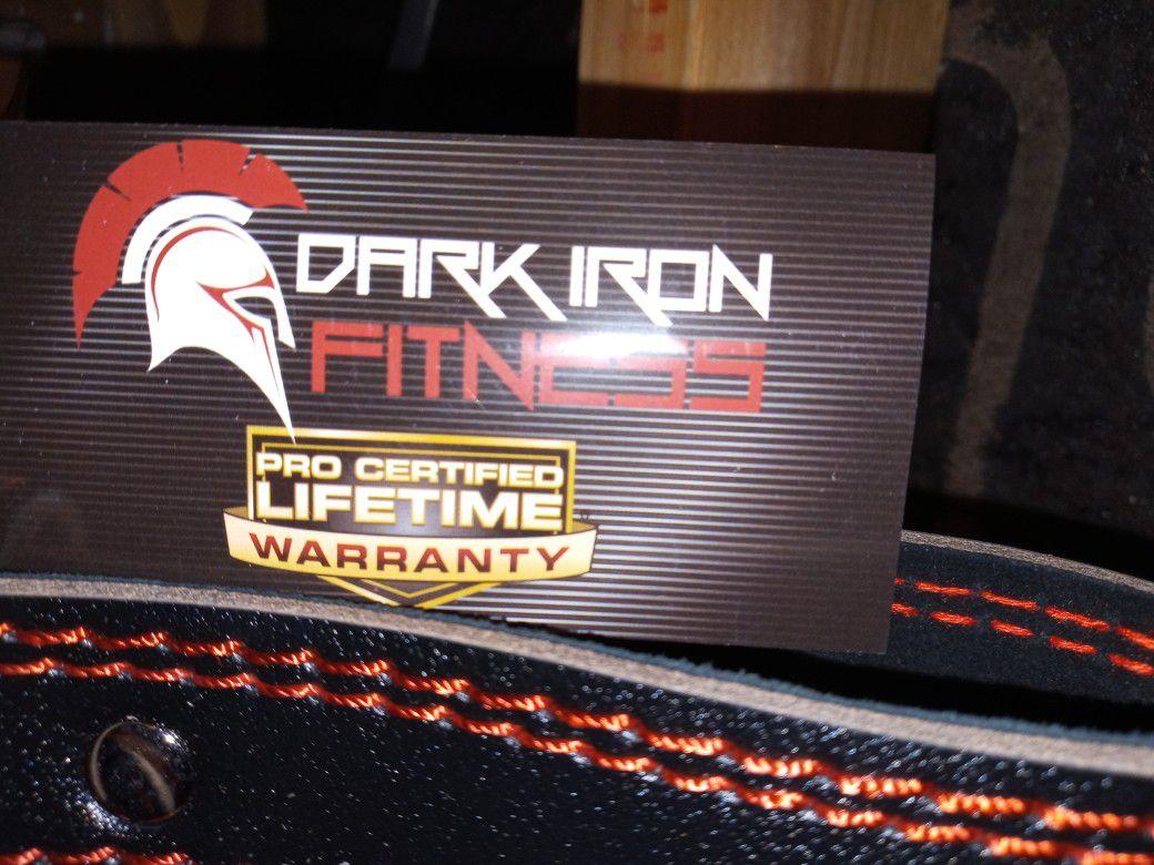 Dark Iron Fitness Medium Weight Belt
