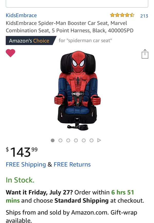 Spiderman Carseat For Sale In Nashville TN