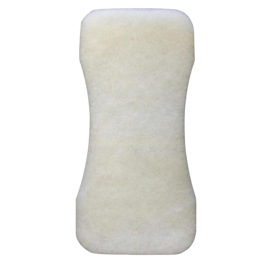 HartFelt Bare Back Scrubber Replacement Pad Exfoliate Dead Skin, Sunless Tanning, White