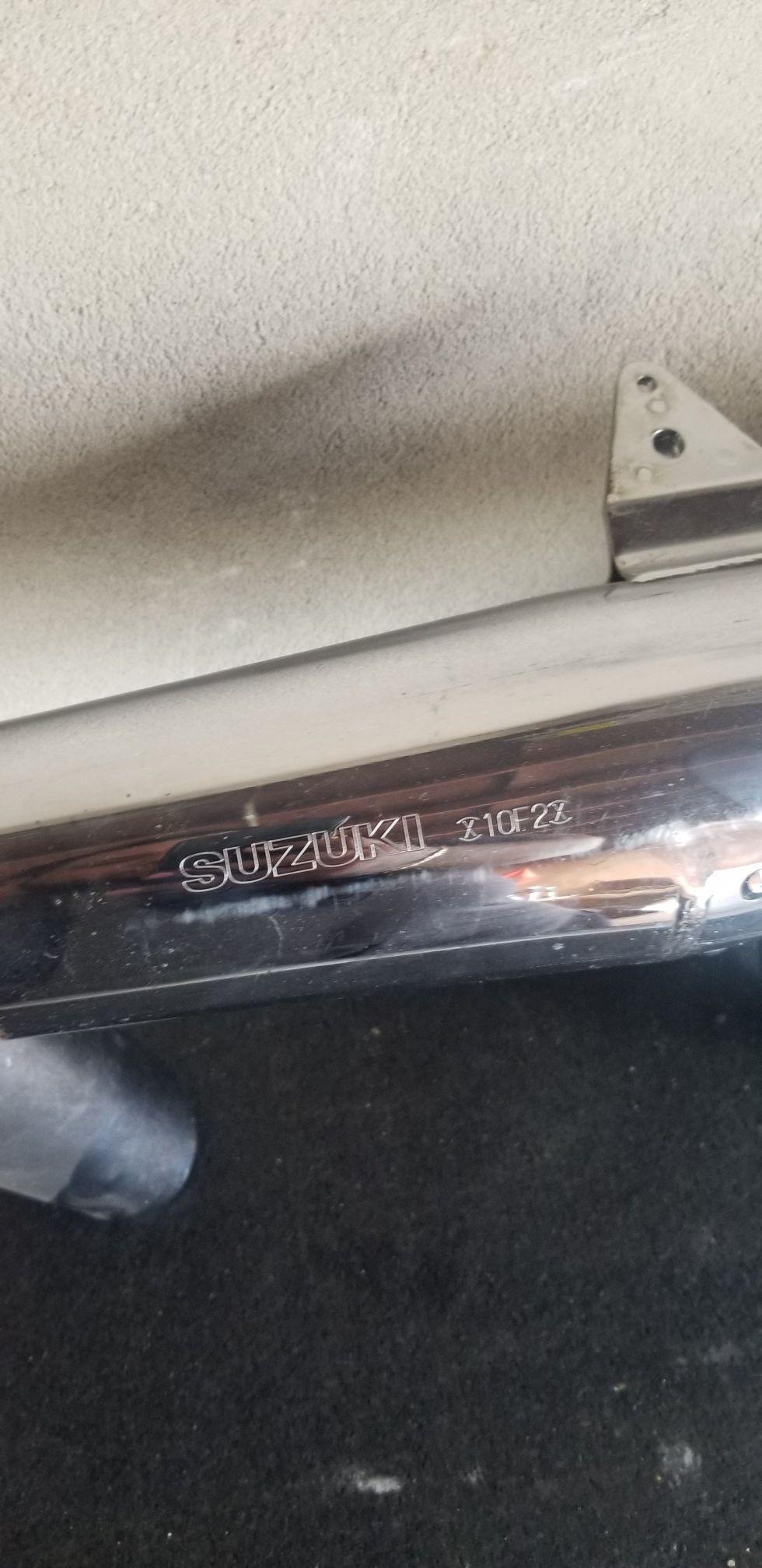 Suzuki intruder 1500cc 1998 mufflers