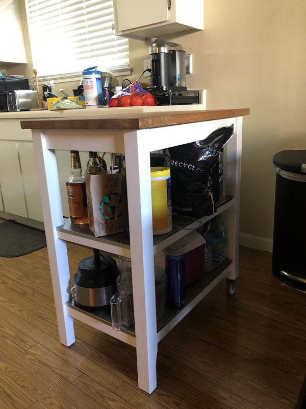 IKEA Stenstorp Kitchen Cart for Sale in Campbell, CA - OfferUp