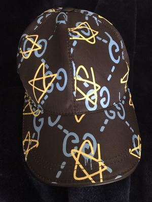 c49765cc6e48b Gucci Ghost Baseball Cap with Strap for Sale in Bolingbrook