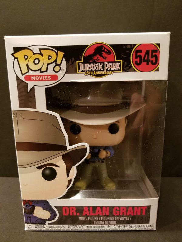 Movies Alan Grant Jurassic Park #545 Dr Funko POP