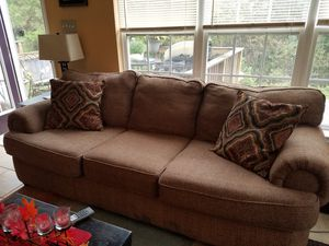 Sofa and chair with ottoman for Sale in Glen Allen, VA