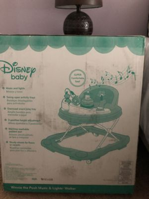 Photo Disney Baby Winnie the Pooh Music and Lights walker