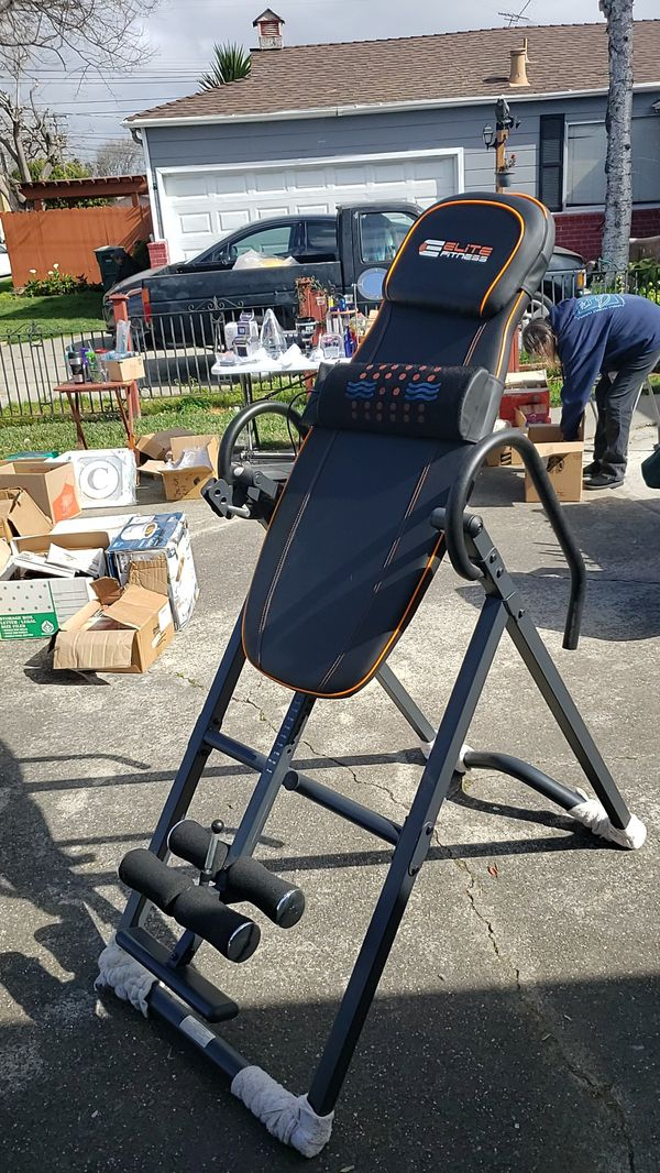 Elite fitness inversion table for Sale in San Leandro CA - OfferUp